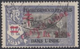 Inde Française - N° 215 (YT) N° 246 (AM) Oblitéré. - Used Stamps