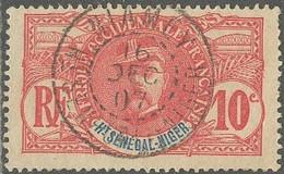 Haut-Sénégal Et Niger - Niamey Sur N° 5 (YT) N° 5 (AM). Oblitération De 1907. - Used Stamps
