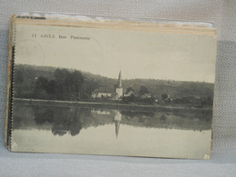 HUY - GIVES BEN PANORAMA - VIENT D'UN CARNET - VOYAGEE 1919 OBLIT GIVES ET HUY - Huy