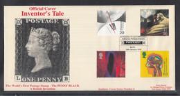 NEU 99 ) GB Great Britain Grande-Bretagne FDC 1999 -  Official Cover Inventors' Tale / 3 - 1991-2000 Decimal Issues