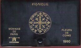 Monnaie Française Coffret FDC Fleurs De Coins Monnaie De Paris 1980 Dont 50 Francs Hercule Argent - Z. FDC
