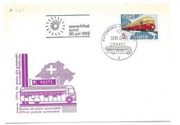 """270 - 45 - Carte PEN Avec Oblit Spéciale """"Seenachtfest Zürich 1962"""" - Marcofilie"""