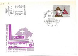 """270 - 47 - Carte PEN Avec Oblit Spéciale """"Eidg. Turnfest Luzern 1963"""" - Marcofilie"""