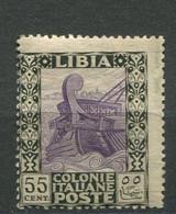 LIBIA 1921 PITTORICA 55 C. ** MNH - Libye