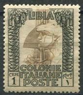 LIBIA 1921 PITTORICA 1 C. ** MNH CENTRATISSIMO - Libye