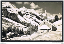 Achseten - Kirche - Timbre Stamp Suisse Switzerland ( 2 Scans ) - BE Berne