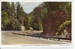 CANADA - The Malahat Drive At Coldstream Near Victoria, B.C., Hand Coloured (L243) - Victoria