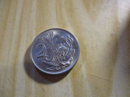 Afrique Du Sud - 20 Cents 1972.N°1473. - Zuid-Afrika