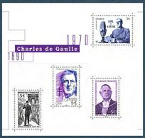 BF Charles De Gaulle 1890-1970 (2020) Neuf** - Ungebraucht