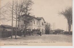 CPA Pierrelatte - Vue Extérieure De La Gare (avec Animation) - Otros Municipios