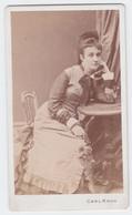Antique Photo - CDV - Carl Kroh - Vienna / Wien - Austria / Osterreich - Young Lady - Old (before 1900)