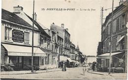 94 - JOINVILLE LE PONT : La Rue Du Pont - Rare - Joinville Le Pont