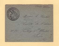 Colomb Bechar - Subsistances Militaires - Franchise Militaire - Algerie - Guerra De 1914-18