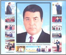 2007. Turkmenistan, President Of Turkmenistan,1 Sheetlet, Mint/** - Turkmenistan