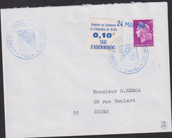 Lettre De Grève                                              St-Dié - Strike Stamps