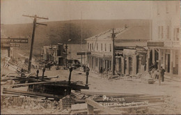 ! Alte Fotokarte, Photo, Punta Arenas, Feuerland, Chile, Earthquake, Erdbeben - Chile