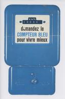 EDF E.D.F. Demandez Le Compteur Bleu Pour Vivre Mieux - (dépliant 2 Volets + Languette) - Advertising