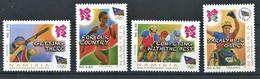 282 - NAMIBIE 2012 - Yvert 1267/70 - JO Tir Cyclisme Athletisme ... - Neuf ** (MNH) Sans Charniere - Namibia (1990- ...)