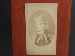 Rare CDV Ancienne  Années 1890. PORTRAIT D UN CARDINAL ITALIEN.  PHOTOGRAPHE AUGUSTO RINALDINI. N0 46 - Old (before 1900)