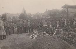 Carte Photo Militaire Guerre De 1914 - Casernas