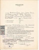 COTE D'IVOIRE TIMBRE FISCAL TAXE MUNICIPALE COMMUNE DE GAGNOA SUR POUVOIR ADMINISTRATIF 1967 - Costa D'Avorio (1960-...)