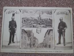 ENSISHEIM    Centenaire Du Corp Des Sapeurs Pompiers 1928 - Autres Communes