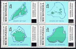 MICRONESIA # FROM 1986  STAMPWORLD 53-56** - Micronesia