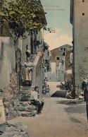 TAORMINA-MESSINA-STRADA DEI PESCATORI-CARTOLINA ANIMATA -NON VIAGGIATA-ANNO 1906-1910 - Messina