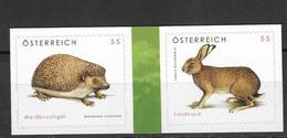 Austria 2008 MiNr. 2729 - 2730  Österreich Fauna ANIMALS  2V  MNH** 4,00 € - Rabbits
