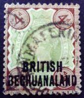 Bechuanaland 1892 Victoria Grande Bretagne Surchargé Great Britain Overprinted British Bechuanaland Yvert 33 O Used - 1885-1895 Kronenkolonie