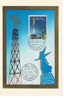 CM VATICAN 1959 RADIO VATICAN - Maximum Cards
