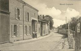 - 08 -  MENIL-LEPINOIS -  Carte Allemande Occupation 14.18 - Otros Municipios