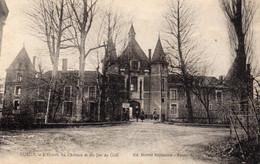 GUEUX Entrée Du Château Et Du Jeu De Golf - Otros Municipios