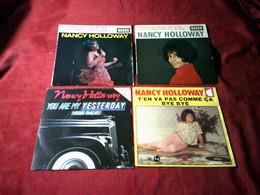 NANCY  HOLLOWAY   °  COLLECTION DE 8 / 45 TOURS - Collezioni