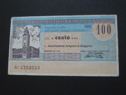 ITALIE - 100 Cento Lire - La Banca Popolare Di Bergamo  **** EN ACHAT IMMEDIAT **** - 50 Lire