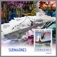 SIERRA LEONE 2020 MNH Submarines U-Boote Sous-marins S/S - OFFICIAL ISSUE - DHQ2047 - Duikboten