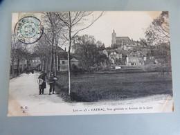 294 - VAYRAC 46 VUE GENERALE ET AVENUE DE LA GARE - Vayrac