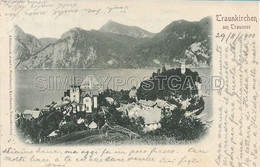 AK OLD POSTCARD AUSTRIA - TRAUNKIRCHEN AM TRAUNSEE - VIAGGIATA 29.08.1900 - B44 - Autres