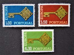 EUROPA 1968 - NEUFS ** - YT 1032/34 - MI 1051/53 - Nuovi