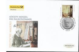 2012 Deutschland  Allem. Fed. Germany  Mi. 2937 FDC  Deutsche Malerei - FDC: Enveloppes