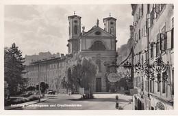AK  - Salzburg - Strassenansicht - LKW In Der Gstättengasse - 1938 - Salzburg Stadt