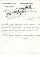 76 - Seine-maritime - DEVILLE-LES-ROUEN - Facture DESJARDINS - Blanchisserie Fresnel - 1922 - REF 178A - 1900 – 1949