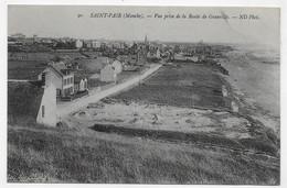 SAINT PAIR - N° 90 - VUE PRISE DE LA ROUTE DE GRANVILLE - CPA NON VOYAGEE - Saint Pair Sur Mer