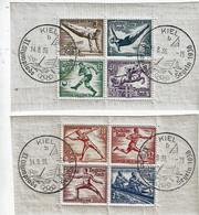 ALLEMAGNE - T.P. 565/72 (=BF 4/5 Découpés) Avec Obl. KIEL XIe Olympiade - Segeln 1936 Du 14-8-36 - Used Stamps