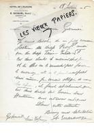 76 - Seine-maritime - GODERVILLE - Facture GICQUEL - Hôtel De L'Europe - 1926 - REF 178A - 1900 – 1949