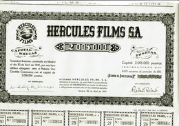 ESPAGNE. HERCULES FILMS SA. - Other