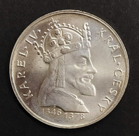Cecoslovacchia Czechoslovakia 100 KORUN 1978 Re Carlo IV 600th Anniv D.1540 - Czechoslovakia