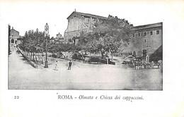 VINTAGE POSTCARD 1904 <  - ROMA - Olmata E Chiesa Dei Cappuccini (õ‿õ) ♥ - Other Monuments & Buildings