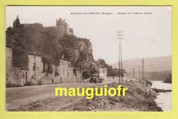DJ / 26 DRÔME / SERVES-SUR-RHÔNE / RUINES DU CHÂTEAU FÉODAL / ANCIEN CAMION - Altri Comuni