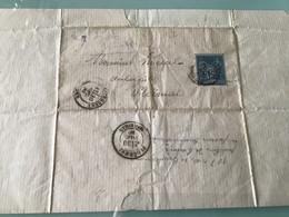 Lettre 29 Décembre 1880 — Questembert Pour Ploërmel - 1800 – 1899